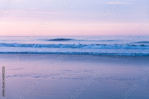 canvas print picture abendstimmung am strand