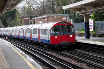 .Ealing common  London tube,London, United Kingdom
