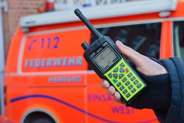 Feuerwehr Hamburg Digitalfunk funkgeräte BOS