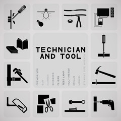 tool and technician