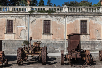 Palace of Portici Faculty of Agriculture agricultural machinery