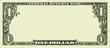 Blank one dollar bill - 60455991