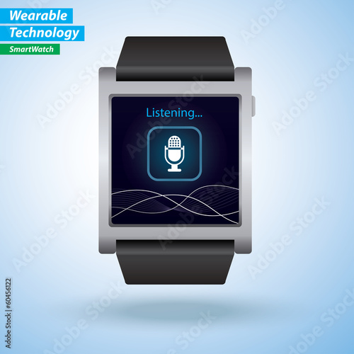 Voice Command / Recognition User Interface on Smart Watch