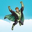 Green Hero Sky