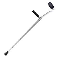 Modern metal crutch