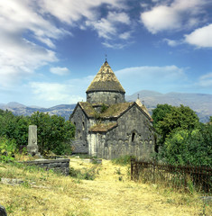 Sanahin monastery in Armenia, UNESCO World Heritage Site