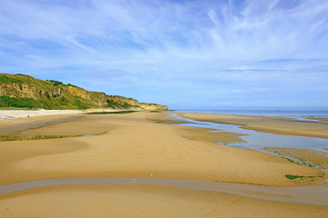 Omaha Beach now, Normandy, France