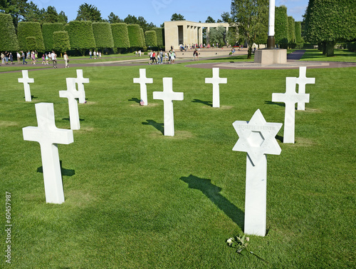 War Graves and Memorial of American cemetery, Collevile, France