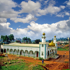 Mosque in Fort Portal, Uganda