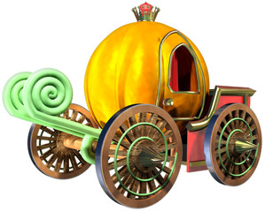 Carriage of pumpkin