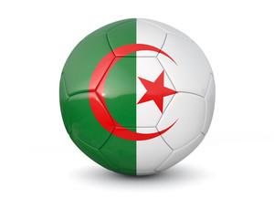 Algeria soccer ball 3d render