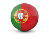 portugal soccer ball 3d render