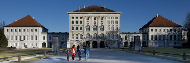 Nymphenburg Castle in Munchen