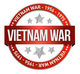 vietnam war commemoration seal illustration