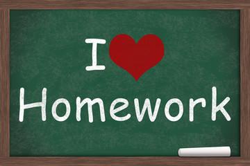 I love Homework