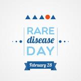 Rare Disease Day poster