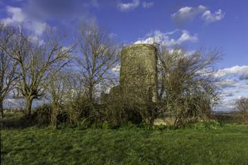Moulin en ruine