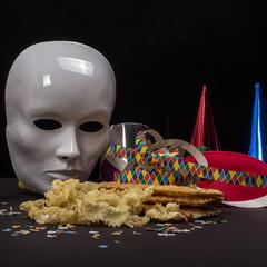 Maschera e dolci