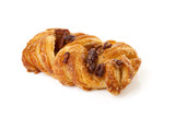 Fancy puff pastry with nuts
