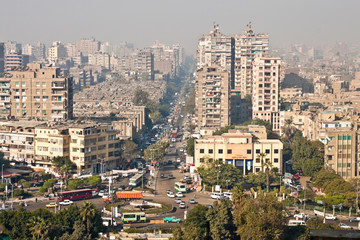 View of Cairo street