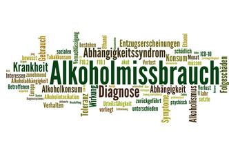 Alkoholmissbrauch (Alkoholismus, Alkohol, Sucht)