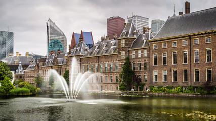 Senate building of the Dutch parliament