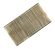 Old and used car air filter