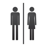 Male and female pictogram
