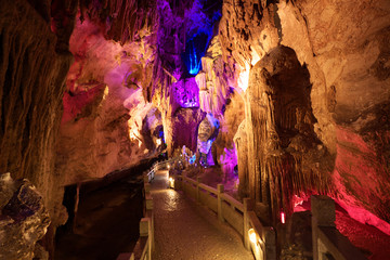 silver cave guangxi province china