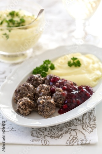 Swedish meatballs köttbullar