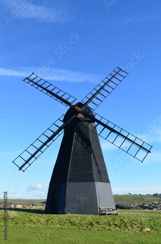 English Smock Windmill