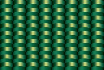 Seamless inlay of the brilliant green semirings