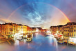 Venice - Grand Canal from Rialto bridge, Italy