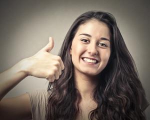 positive girl