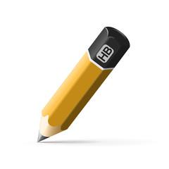 simple pencil hb