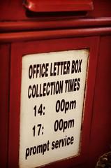 englischer Briefkasten