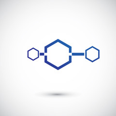 Molecule and communication shape