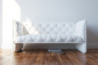 Vintage White Design Couch In Minimalist Interior 	Vintage White Design Couch In Minimalist Interior © DiMmEr - Fotolia.com