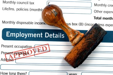 Employment details - approved