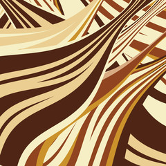 vector abstract background and a colored lines