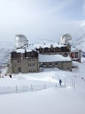 ski resort and astronomic observatory in gornergrat