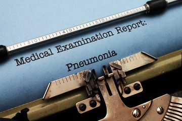 Medical report - Pneumonia