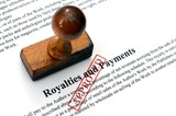 Royalties and payment poster