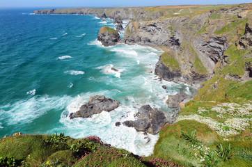 Pendarves Island at Bedruthan Steps