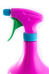 purple spray bottle