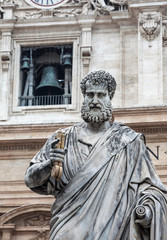 St. Peter statue in Vatican