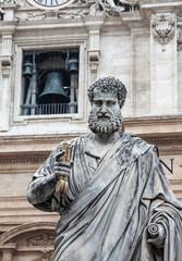 St. Peter statue in Vatican