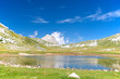 The little lake of Campo Imperatore, Abruzzo, Italy