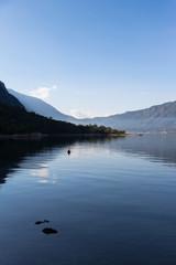 Kotor bay in the morning
