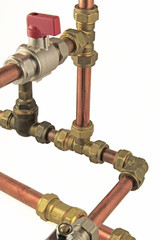 plumbing pipework